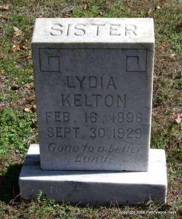 KELTON, LYDIA - Garland County, Arkansas | LYDIA KELTON - Arkansas Gravestone Photos