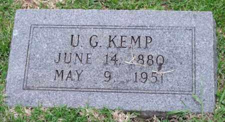 KEMP, U. G. - Garland County, Arkansas | U. G. KEMP - Arkansas Gravestone Photos