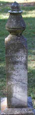 KEMP, WILLIE L. - Garland County, Arkansas | WILLIE L. KEMP - Arkansas Gravestone Photos