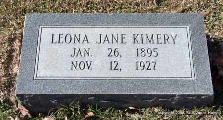 KIMERY, LEONA JANE - Garland County, Arkansas | LEONA JANE KIMERY - Arkansas Gravestone Photos