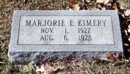 KIMERY, MARJORIE E. - Garland County, Arkansas | MARJORIE E. KIMERY - Arkansas Gravestone Photos