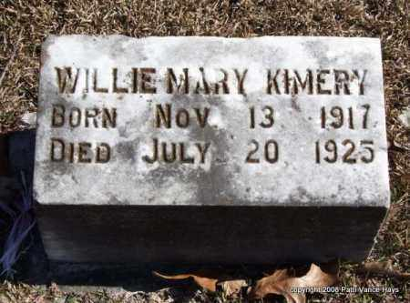 KIMERY, WILLIE MARY - Garland County, Arkansas | WILLIE MARY KIMERY - Arkansas Gravestone Photos