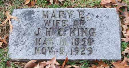 KING, MARY E. - Garland County, Arkansas | MARY E. KING - Arkansas Gravestone Photos