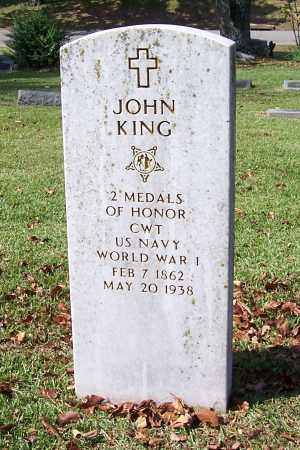 KING (VETERAN SAW, FAMOUS), JOHN - Garland County, Arkansas | JOHN KING (VETERAN SAW, FAMOUS) - Arkansas Gravestone Photos