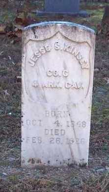 KINSEY (VETERAN UNION), JESSE S. - Garland County, Arkansas | JESSE S. KINSEY (VETERAN UNION) - Arkansas Gravestone Photos