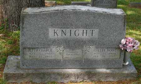 KNIGHT, PETER CHARLIE - Garland County, Arkansas | PETER CHARLIE KNIGHT - Arkansas Gravestone Photos