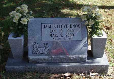 KNOX, JAMES FLOYD - Garland County, Arkansas   JAMES FLOYD KNOX - Arkansas Gravestone Photos