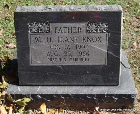 KNOX, W. O. (LAN) - Garland County, Arkansas | W. O. (LAN) KNOX - Arkansas Gravestone Photos
