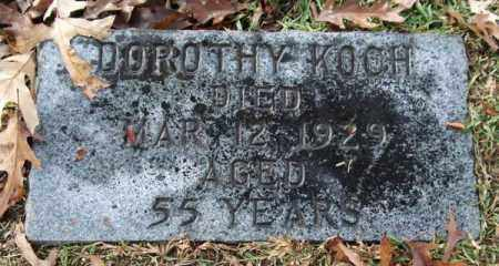 KOCH, DOROTHY - Garland County, Arkansas | DOROTHY KOCH - Arkansas Gravestone Photos