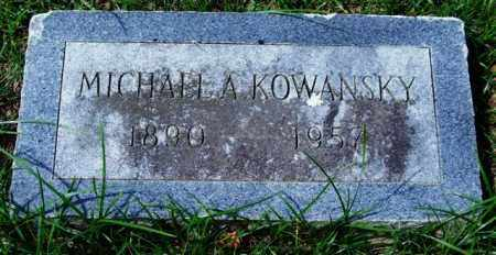 KOWANSKY, MICHAEL A. - Garland County, Arkansas | MICHAEL A. KOWANSKY - Arkansas Gravestone Photos