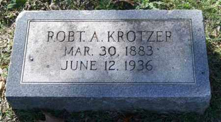 KROTZER, ROBERT A. - Garland County, Arkansas | ROBERT A. KROTZER - Arkansas Gravestone Photos