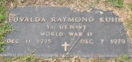 KUHN (VETERAN WWII), EUVALDA RAYMOND - Garland County, Arkansas | EUVALDA RAYMOND KUHN (VETERAN WWII) - Arkansas Gravestone Photos