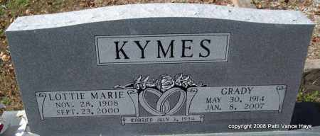 KYMES, LOTTIE MARIE - Garland County, Arkansas | LOTTIE MARIE KYMES - Arkansas Gravestone Photos
