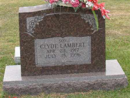 LAMBERT, CLYDE - Garland County, Arkansas | CLYDE LAMBERT - Arkansas Gravestone Photos