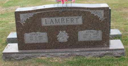 LAMBERT, ERWIN C. - Garland County, Arkansas | ERWIN C. LAMBERT - Arkansas Gravestone Photos