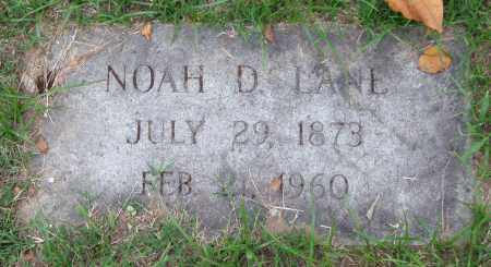 LANE, NOAH D. - Garland County, Arkansas | NOAH D. LANE - Arkansas Gravestone Photos
