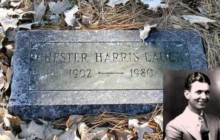 "LAUCK (FAMOUS), CHESTER HARRIS ""LUM"" - Garland County, Arkansas 