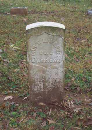 LAVENDER (VETERAN UNION), JOHN T - Garland County, Arkansas | JOHN T LAVENDER (VETERAN UNION) - Arkansas Gravestone Photos