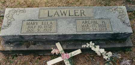 LAWLER, AMERICUS - Garland County, Arkansas | AMERICUS LAWLER - Arkansas Gravestone Photos