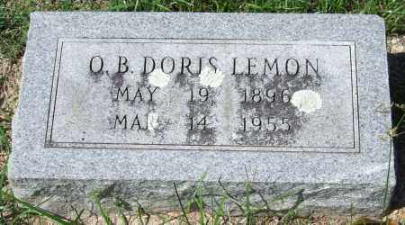 LEMON, O. B. DORIS - Garland County, Arkansas | O. B. DORIS LEMON - Arkansas Gravestone Photos