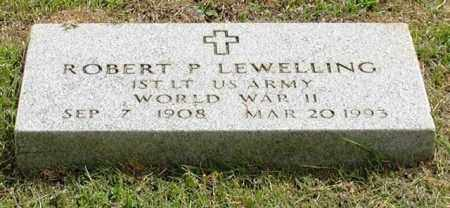 LEWELLING (VETERAN WWII), ROBERT P - Garland County, Arkansas | ROBERT P LEWELLING (VETERAN WWII) - Arkansas Gravestone Photos