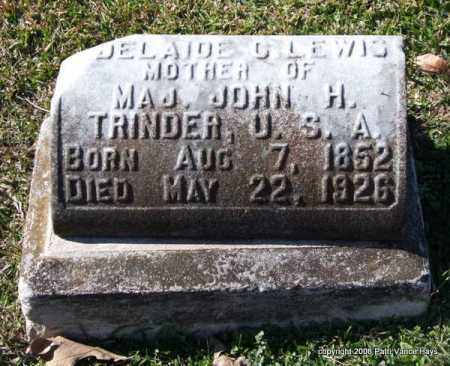 LEWIS, ADELAIDE G. - Garland County, Arkansas | ADELAIDE G. LEWIS - Arkansas Gravestone Photos