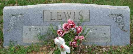 LEWIS, BLAINE T. - Garland County, Arkansas | BLAINE T. LEWIS - Arkansas Gravestone Photos