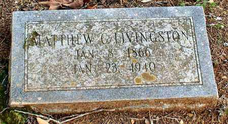 LIVINGSTON, MATTHEW CALEB - Garland County, Arkansas | MATTHEW CALEB LIVINGSTON - Arkansas Gravestone Photos