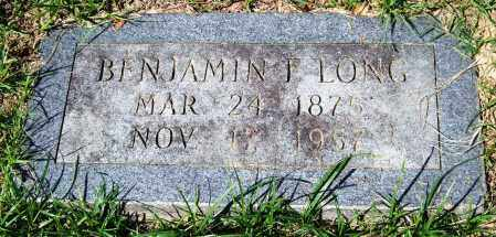 LONG, BENJAMIN F. - Garland County, Arkansas | BENJAMIN F. LONG - Arkansas Gravestone Photos