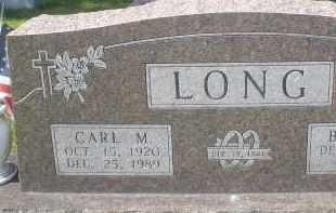 LONG, CARL M. - Garland County, Arkansas | CARL M. LONG - Arkansas Gravestone Photos