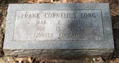 LONG, FRANK CORNELIUS - Garland County, Arkansas | FRANK CORNELIUS LONG - Arkansas Gravestone Photos
