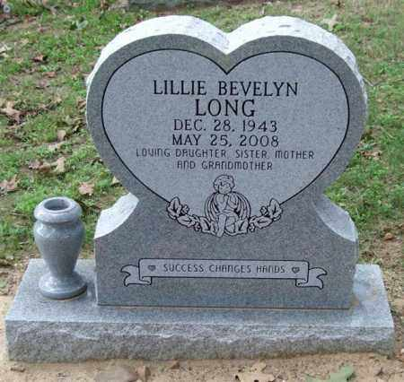 LONG, LILLIE BEVELYN - Garland County, Arkansas | LILLIE BEVELYN LONG - Arkansas Gravestone Photos