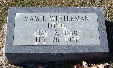 WESTERMAN LONG, MAMIE - Garland County, Arkansas | MAMIE WESTERMAN LONG - Arkansas Gravestone Photos