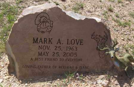LOVE, MARK A. - Garland County, Arkansas | MARK A. LOVE - Arkansas Gravestone Photos