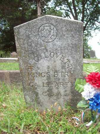 LOVETT (VETERAN CSA), W G - Garland County, Arkansas | W G LOVETT (VETERAN CSA) - Arkansas Gravestone Photos