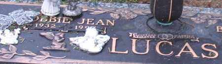 LUCAS, BOBBIE JEAN (CLOSE UP) - Garland County, Arkansas | BOBBIE JEAN (CLOSE UP) LUCAS - Arkansas Gravestone Photos