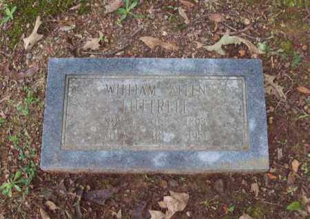 LUTTRELL, WILLIAM  ALLEN - Garland County, Arkansas | WILLIAM  ALLEN LUTTRELL - Arkansas Gravestone Photos