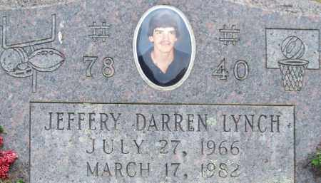 LYNCH, JEFFERY DARREN (CLOSE UP) - Garland County, Arkansas | JEFFERY DARREN (CLOSE UP) LYNCH - Arkansas Gravestone Photos