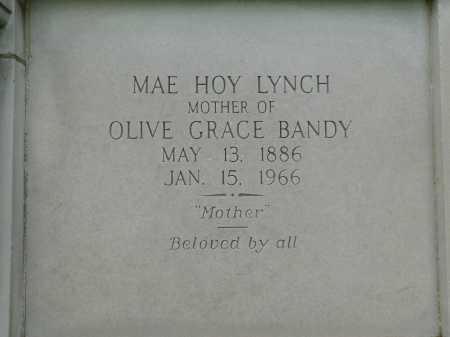 LYNCH, MAE - Garland County, Arkansas | MAE LYNCH - Arkansas Gravestone Photos
