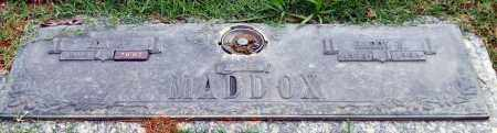 MADDOX, HARRY E. - Garland County, Arkansas | HARRY E. MADDOX - Arkansas Gravestone Photos