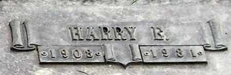 MADDOX, HARRY E. (CLOSE UP) - Garland County, Arkansas | HARRY E. (CLOSE UP) MADDOX - Arkansas Gravestone Photos