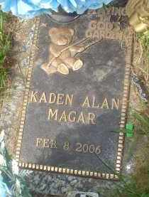 MAGAR, KADEN ALAN - Garland County, Arkansas | KADEN ALAN MAGAR - Arkansas Gravestone Photos