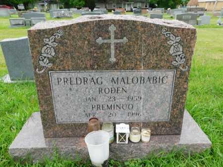 MALOBABIC, PREDRAG - Garland County, Arkansas | PREDRAG MALOBABIC - Arkansas Gravestone Photos