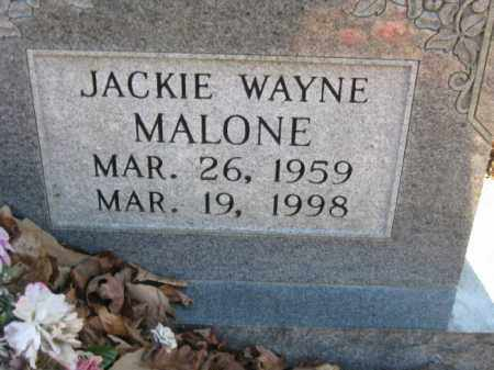 MALONE, JACKIE WAYNE - Garland County, Arkansas | JACKIE WAYNE MALONE - Arkansas Gravestone Photos