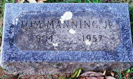 MANNING, JR., TOM - Garland County, Arkansas | TOM MANNING, JR. - Arkansas Gravestone Photos