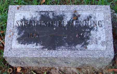 MANNING, SARAH ESTELLE - Garland County, Arkansas | SARAH ESTELLE MANNING - Arkansas Gravestone Photos