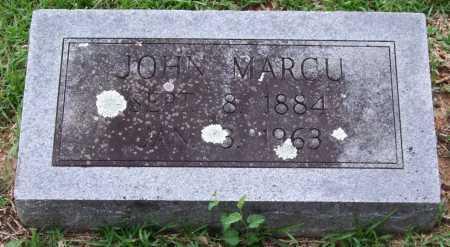 MARCU, JOHN - Garland County, Arkansas   JOHN MARCU - Arkansas Gravestone Photos