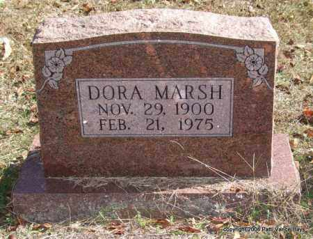 MARSH, DORA - Garland County, Arkansas | DORA MARSH - Arkansas Gravestone Photos