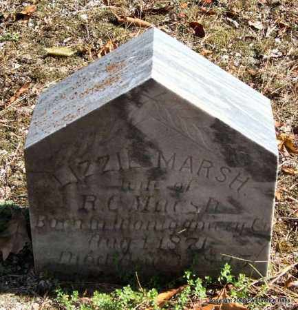 MARSH, LIZZIE - Garland County, Arkansas | LIZZIE MARSH - Arkansas Gravestone Photos