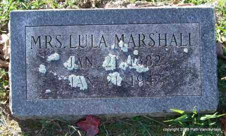 MARSHALL, LULA - Garland County, Arkansas | LULA MARSHALL - Arkansas Gravestone Photos